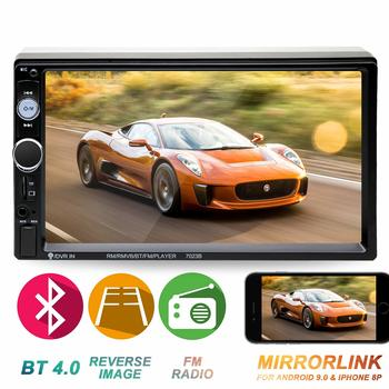 9. Double din in-Dash Car Stereo Head Unit 7-inch Touch Screen, Compatible with Bluetooth
