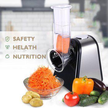 9. Homdox Salad Cheese Maker Professional Electric Shredder Slicer