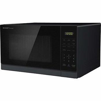 9. Sharp 0.7-cu ft Compact Microwave Ovens, 700-Watt