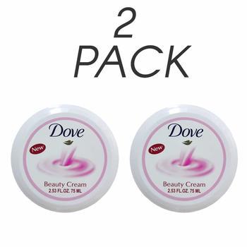 10. 2 x Dove Beauty Cream 2.53 fl oz