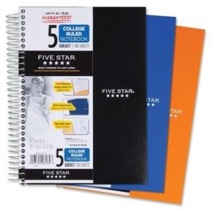 Top 10 Best 5 Subject Notebooks In 2021 Reviews