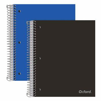 3. Oxford 3-Subject Poly Notebooks, 2 Pack