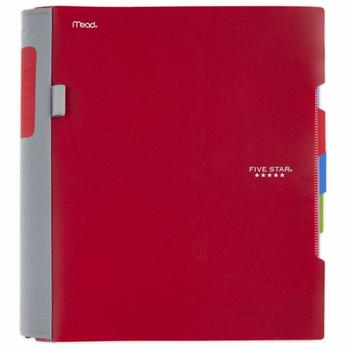 4. Five Star 2 Pocket Folders with Prong Fasteners, 4 Pack