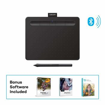 6. Wacom Intuos Wireless Graphics Drawing Tablet