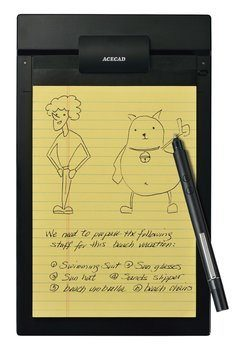 7. ACECAD PenPaper 5x8 Digital Notepad