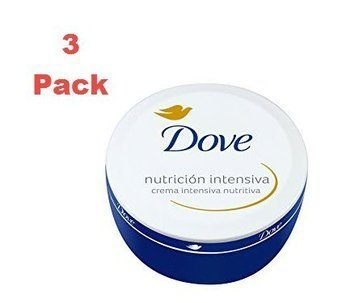 7. Dove Nutritive Intensive Cream. 250 ml. Pack of 3