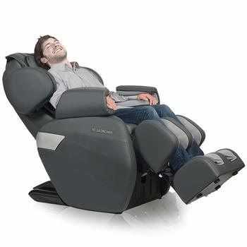 1 RELAXONCHAIR [MK-II Plus] Full Body Zero Gravity Shiatsu Massage Chair with Built-in Heat and Air