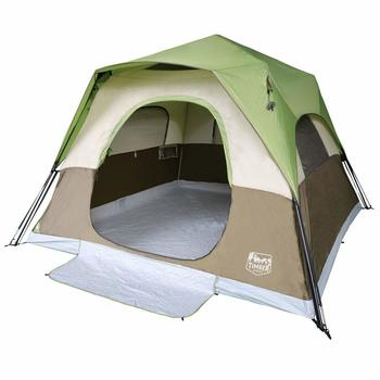 1 Timber Ridge 6-Person Instant Cabin Tent with Rainfly