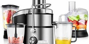 1. COSTWAY Electric 5-in-1 Professional Food Processer