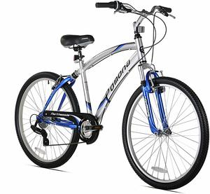 1. Kent Pomona Men's Dual Suspension Comfort Bike