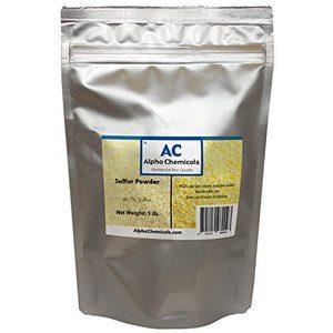 #1. Sulfur Powder (Brimstone) - 1 Pound