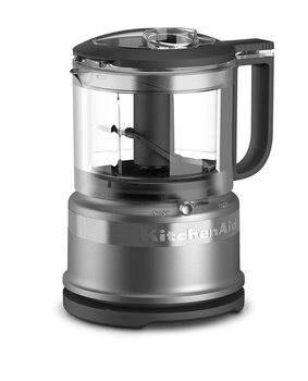 10 KitchenAid KFC3516CU 3.5 Cup Mini Food Processor, Contour Silver (Renewed)