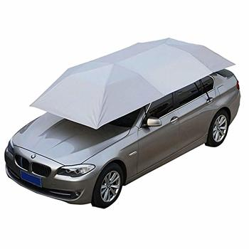 10. Giraffe-X Semi-Automatic Hot Summer Car Umbrella