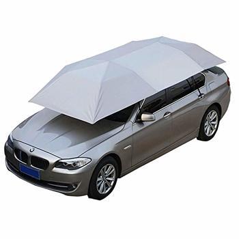 10. Giraffe-X Semi-Automatic Hot Summer Car Umbrella