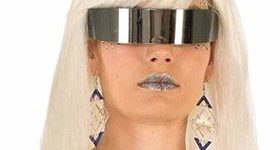 10. Mirror Wrap Around Glasses - Adult One Size