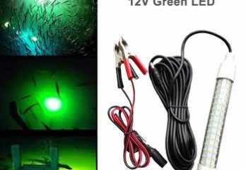 11. 12V LED 1000 Lumens Lure Bait Finder Night Fishing Finder Crappie Shad Boat LED