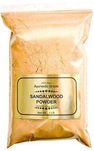 #11. India Sandalwood Pure Powder 100% Ayurvedic Grade