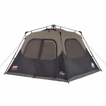 2 Coleman Cabin Tent with Cabin Tent for Camping Up in 60 Seconds