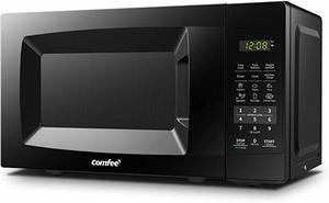 2. COMFEE' EM720CPL-PMB Countertop Microwave Oven