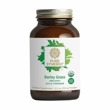 2. Pure Synergy USDA Organic Barley Grass Juice Powder (5.3 oz)