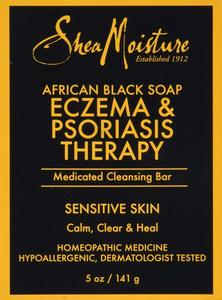 2. SheaMoisture African Black Soap Eczema Therapy (Medicated) - 5 oz