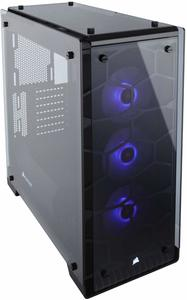 #3 Corsair Crystal Mid-Tower Case - Tempered Glass PC Cases