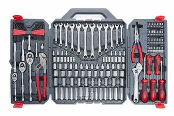 3 Crescent 170 Pc. General Purpose Tool Set - Closed Case