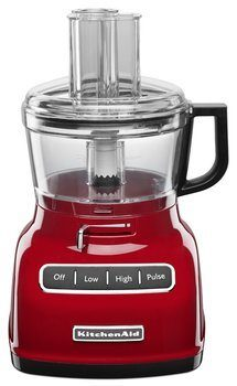 3 KitchenAid KFP0722ER 7-Cup Food Processor with Exact Slice System - Empire Red