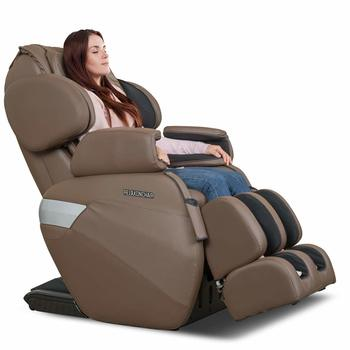 3 RELAXONCHAIR [MK-II Plus] Full massage chair with Built-in Heat and Air Massage System - Chocolate