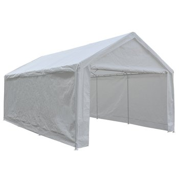 3. Abba Patio 12 x 20-Feet Heavy Duty Carport