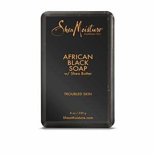 3. Shea Moisture African Black Soap With Shea Butter 8 oz