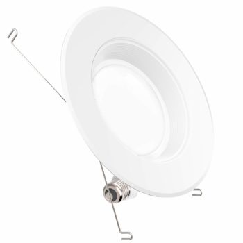 3. Sunco Lighting Inch LED Downlight, Recessed, Baffle Trim, 4000K Cool White