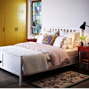 #4 IKEA Hemnes Queen Bed Frame