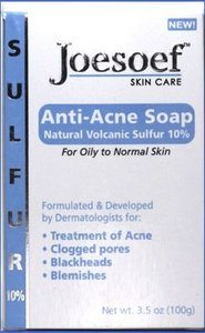 #4. Sulfur Soap for Acne Pharmaceutical Grade Dermatologists FDA Approved for Acne