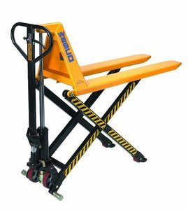 #4. Wesco 272754 Manual High-Lift Pallet Truck