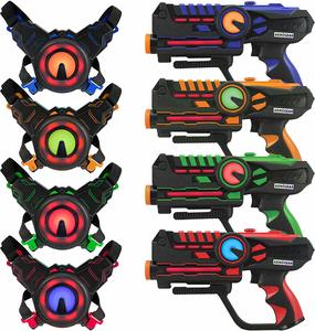 5 ArmoGear Infrared Laser Tag Blasters and Vests - Laser Tag Guns