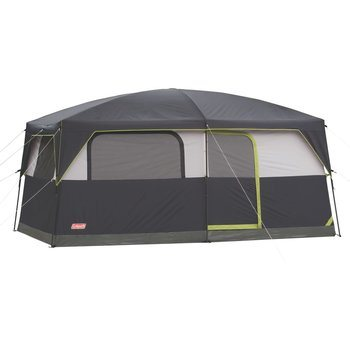 5 Coleman Prairie Breeze Lighted Cabin Tent, 9-Person