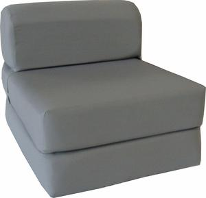 #5 D&B Futon Furniture Gray Sleeper Chair