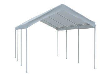 5. Abba Patio 10 x 20-Feet Outdoor Carport