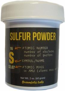 #5. Braunfels Labs 2 Oz Sulfur Powder