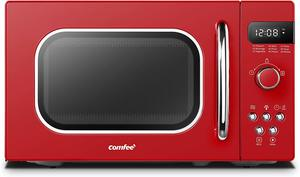 5. COMFEE' AM720C2RA-R Retro Style Countertop Microwave Oven