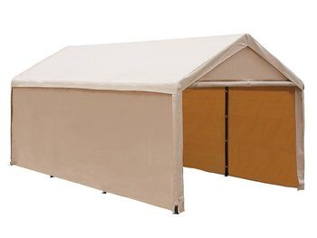 6. Abba Patio 10 x 20 ft Car Canopy