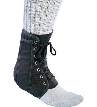 7 ProCare Lace-Up Ankle Support Brace, Medium