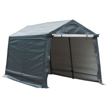 7. Abba Patio Storage Shelter 8 x 14- Feet Car Canopy