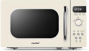 7. COMFEE' AM720C2RA-A Retro Style Countertop Microwave Oven