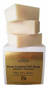 7. Moisturizing Coconut Oil Face & Body Bar Soap