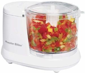 7. Proctor Silex Durable Mini 1.5 Cup Food Processor
