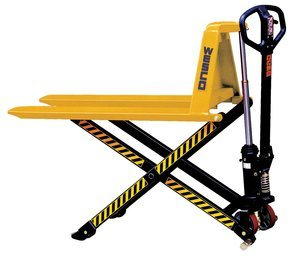 #7. Wesco Industrial 272975 Manual High Lift Pallet Truck