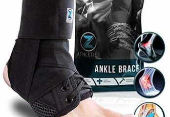 8 Zenith Ankle Brace, Lace Up Adjustable Support – for Running, Basketball, Injury