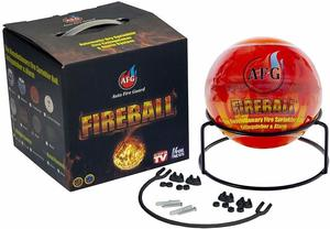 8. Automatic Fire Extinguisher Ball with Stand and Sign
